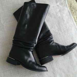 Italian Black Riding Boots